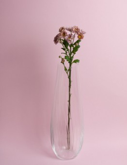 Kvalitná váza z fúkaného krištálového skla od Bohemia Crystal Glass