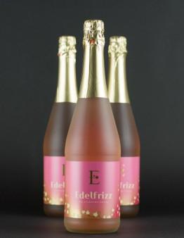 Edelfrizz ružové šumivé víno