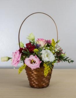 Košík kvetov
