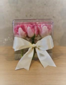 Darčeková kvetinová krabička