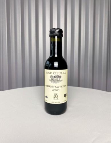 Červené víno mini